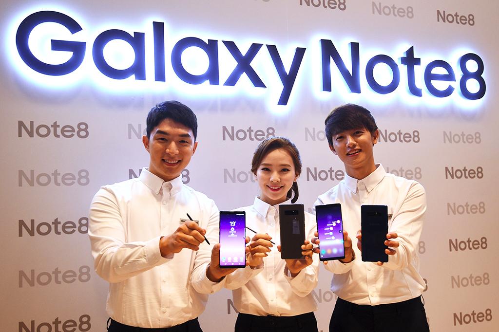 Ini Tampilan Perdana Samsung Galaxy Note8