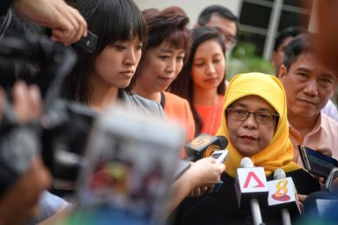 Dipilih Tanpa Pemungutan Suara, Warga Singapura Protes Presiden Baru
