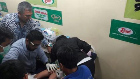 Ratusan Anak Ikut Khitanan Massal di Bogor