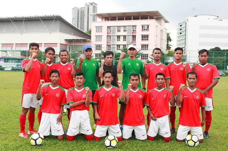 TimnasSepak Bola  CP Indonesia (Istimewa)