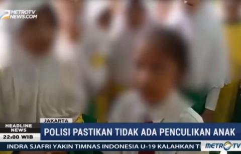 Polisi Pastikan Tidak Ada Percobaan Penculikan Siswi SD Tanjung Duren
