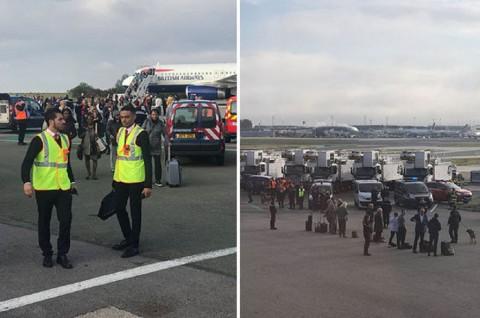 Ancaman Teror di Bandara Paris, Penumpang British Airways Dievakuasi