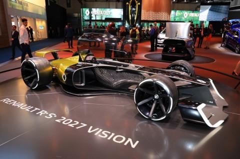 Renault Boyong Mobil Konsep F1 RS 2027 Vision Ke Frankfurt