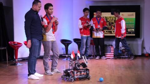 Never Before, Tim Robotik Muda Indonesia yang Mengguncang Dunia