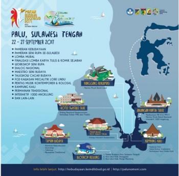 Pekan Budaya Indonesia III Digelar di Palu, 22-27 September