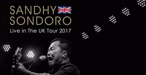 Sandhy Sondoro Menggelar Tur Inggris