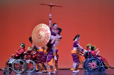 Saat Penari Difabel Tampil pada Gala Ballet Indonesia