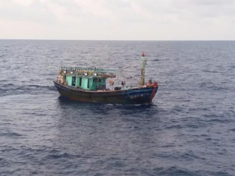 2 Kapal Asing Ilegal Ditangkap di Perairan Natuna