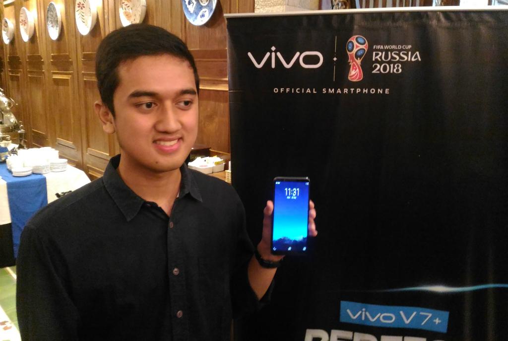 Vivo mengklaim fitur Face Access yang ditawarkan Vivo V7 Plus lebih aman dibandingkan pendahulunya.