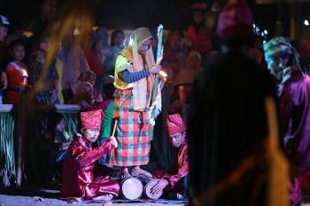 Ritual Magis Tanah Kaili dalam Pekan Budaya Indonesia