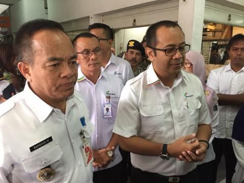 PD Pasar Jaya bakal Tarik PKL ke Pasar Enjo