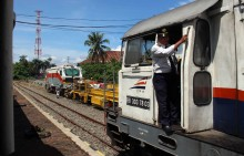 Jalur Kereta TransSumatera Molor Terbentur Anggaran