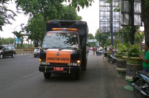 Pemkot Sediakan Transportasi Pengganti
