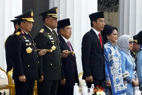 TNI, Polri, dan Kendali Jokowi