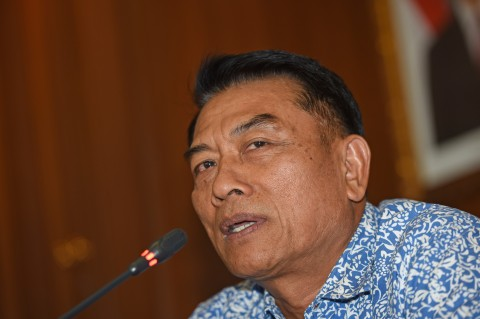 Komentar Moeldoko soal Polemik Senjata Polri vs TNI