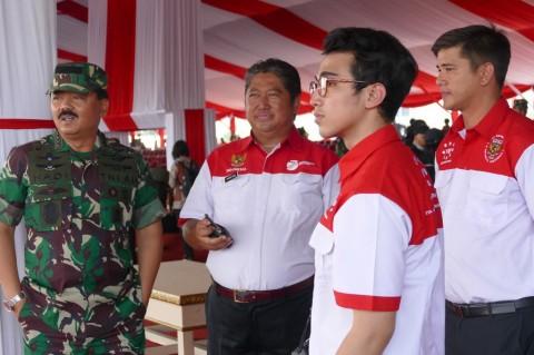 Vadi Akbar Bangga Terlibat di Acara Perayaan HUT TNI