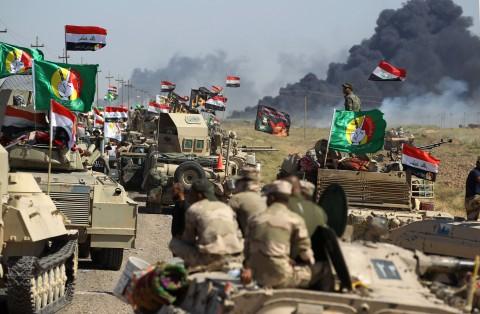 Pasukan Irak Rebut Wilayah Hawija dari ISIS