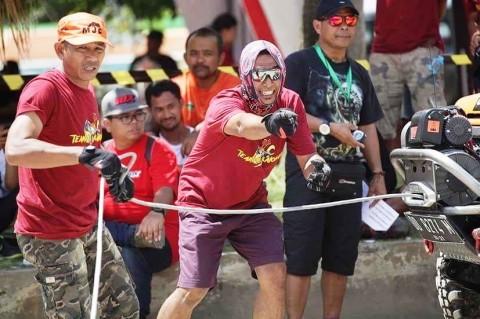 Tim IOX Celebes 2017 Memantapkan Kekompakan