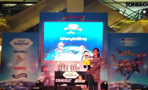 Habiskan Akhir Pekan dalam Serunya Main Boboiboy Galaxy di Rumah Indofood