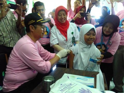7.644 Anak di DIY Ditarget Terimunisasi HPV