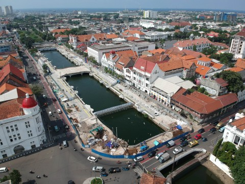 Lokasi Binaan Kota Tua Dikeluhkan PKL
