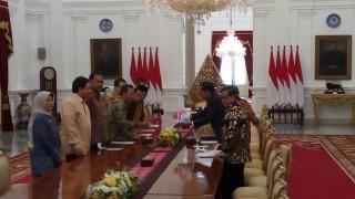 BPK Sampaikan Laporan IHPS I Tahun 2017 pada Presiden