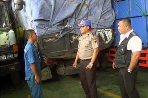 Polisi Memperketat Pemeriksaan di Pelabuhan Tanjung Kendal