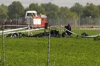 Pesawat Tempur Spanyol Jatuh, Pilot Tewas