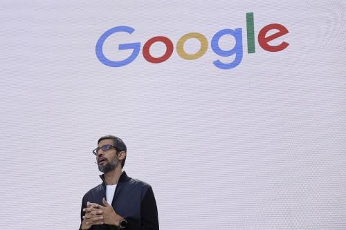 CEO Google, Sundar Pichai. (AP Photo/Eric Risberg, FILE)