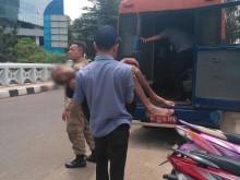 Dinsos DKI Temukan PMKS Sakit Parah di Samping RS Siloam