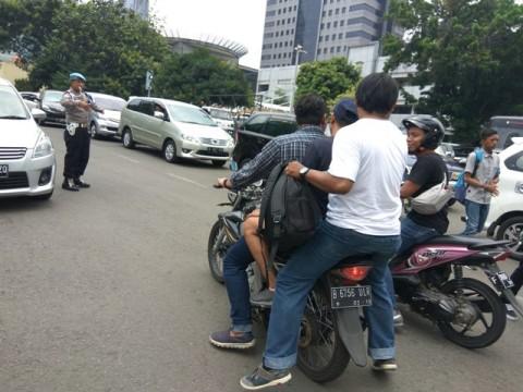 Pemilik Tas Mencurigakan di Polda Metro Jaya Dicokok