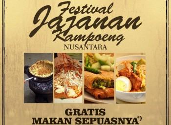 Dapatkan Kartu e-Toll & Makan Gratis di Magnolia Fiesta Festival Jajanan Kampoeng Nusantara