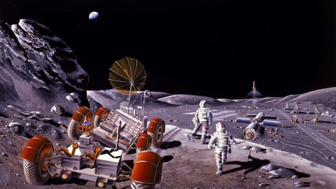 Ilmuwan Jepang Temukan Lokasi Ideal untuk Bangun Markas di Bulan