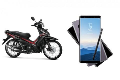 Pilihan Motor Setara Harga Samsung Galaxy Note 8