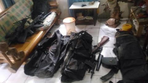 TNI Ciduk Puluhan Pucuk Senjata Replika di Tangerang