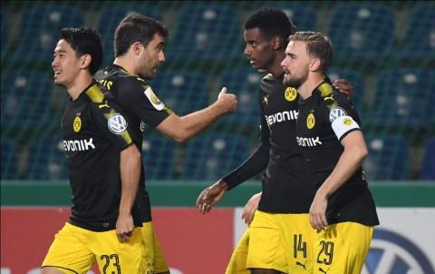 Bantai Magdeburg, Dortmund Melenggang ke Babak 16-Besar DFB Pokal