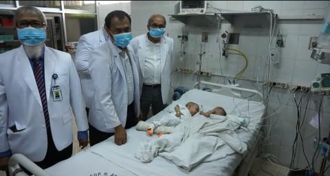 Kesehatan Bayi Sahira-Fahira Stabil