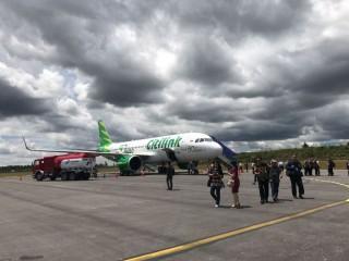 Gandeng Menpar, Citilink Terbang Perdana ke Jakarta-Silangit