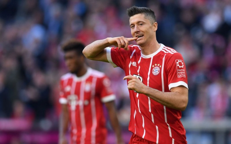 Robert Lewandowski (Foto: AFP/Christof Stache)