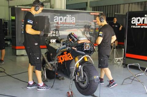 Aprilia Tertarik Riset Rangka Moto2