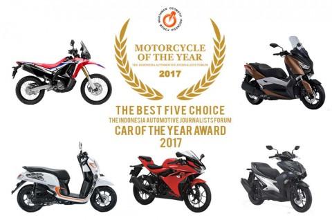 Lima Finalis Motor Terbaik 2017 Versi Forwot