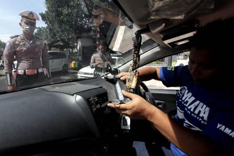 563 Mobil Ditilang karena Gunakan Rotator