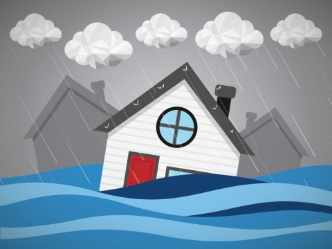 Tanggul Jebol, Kampung Luar Batang Banjir
