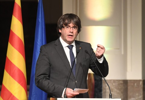 Axed Catalan Leader Slams EU for 'Helping' Spanish PM