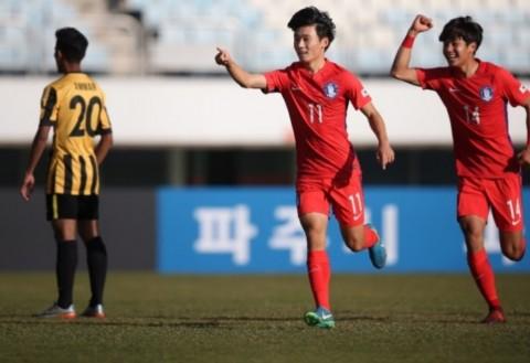 Bantai Malaysia, Korsel U-19 Keluar sebagai Juara Grup