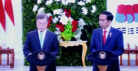 Presiden Korsel Mengaku Punya Kesamaan dengan Jokowi