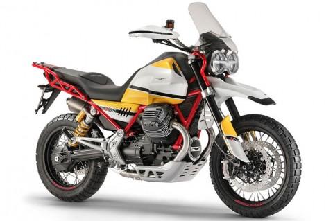 Moto Guzzi Concept V85, Motor Enduro untuk Jalan Raya