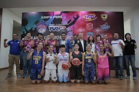 Kompetisi Basket Putri Srikandi Cup Digelar di Empat Kota