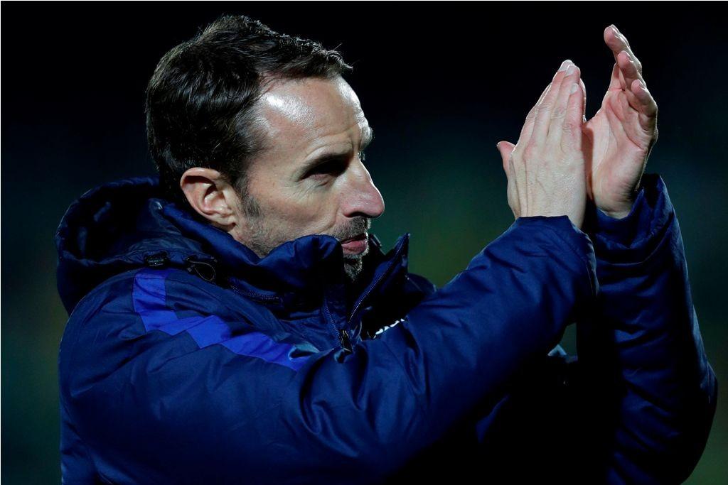 Gareth Southgate. (AFP PHOTO / Adrian DENNIS)