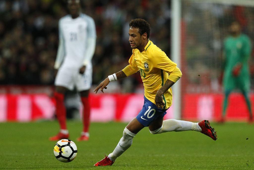 Neymar Da Silva. (Foto: AFP/Adrian Dennis)